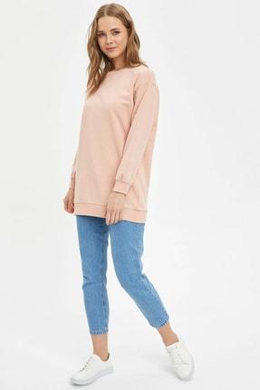 Defacto Modest Relax Fit Basic Sweatshirt 1