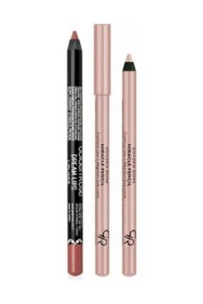 Göz Ve Dudak Için Aydınlatıcı Kalem - Miracle Pencil + Dream Lips Dudak Kalemi 503 053