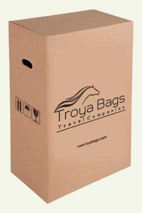 Troya Bags Siyah Unisex 3'lü Set,  Kabin ,Orta ve Büyük Boy Valiz TR1271 4