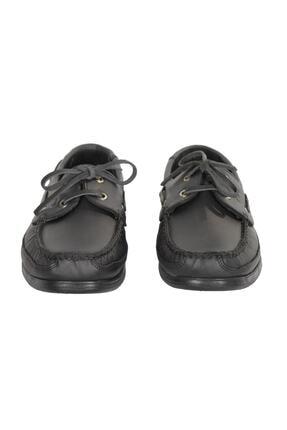 Baymen Erkek Siyah Deri  Loafer Ayakkabı 1