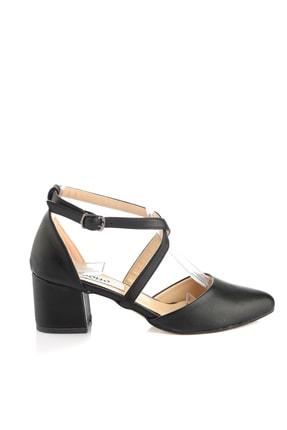 Soho Exclusive Siyah Kadın Klasik Topuklu Ayakkabı 14392 4