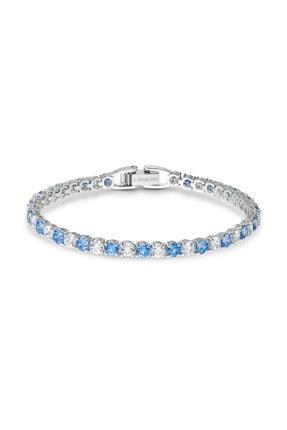 Swarovski Bileklik Tennis Dlx-bracelet Rnd Dlx Czfu-rhs M 5536469 0