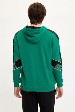 Defacto Erkek Yeşil Nba Lisanslı Sweatshirt N2605AZ.20SP.GN154 4