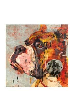 mağazacım Anonim Köpek Portre Yağlı Boya Reprodüksiyon 50 Cm X 50 Cm Kanvas Tablo Tbl1060 2