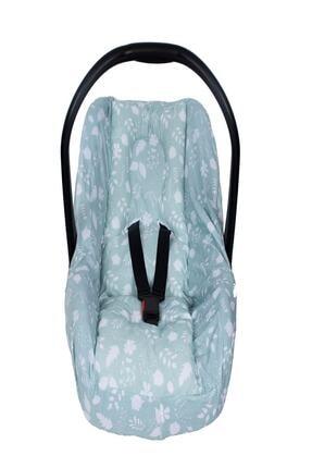 Sevi Bebe Bel Destekli Anakucağı Örtüsü - Yaprak Desen 0