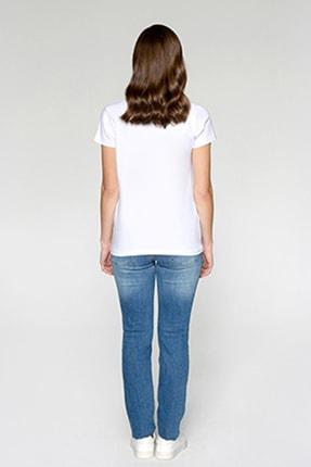 Tchibo Basic V Yaka Kadın Tişört 106794 1