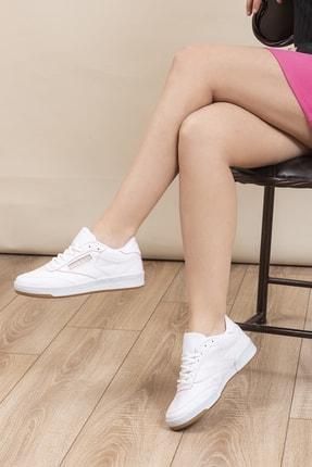 Tonny Black Beyaz Fuşya Unisex Sneaker TB107-0 4