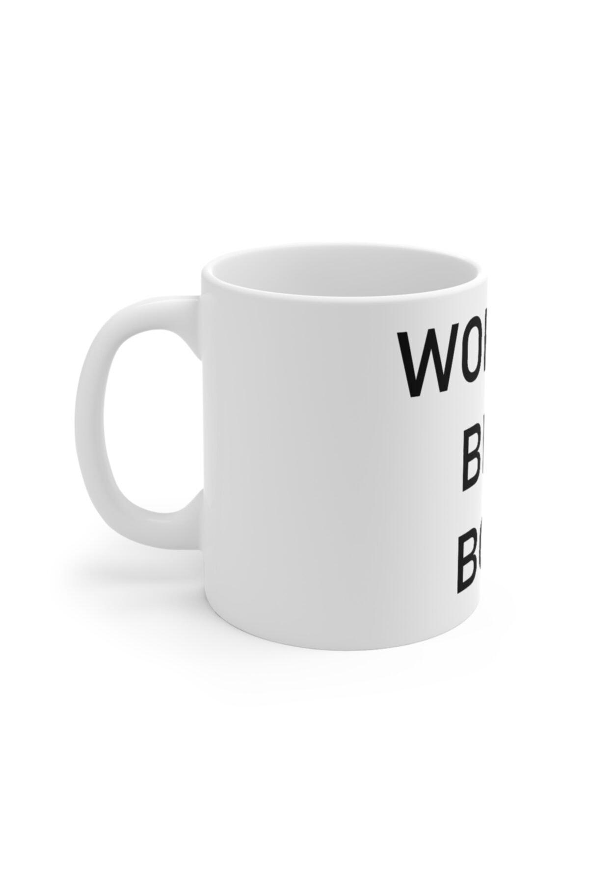 Mugs&Gift Beyaz The Office World's Best Boss Original Baskılı Kupa Bardak