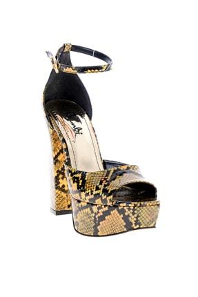 Bambi Altın Kadın Abiye Ayakkabı L0501816107 2