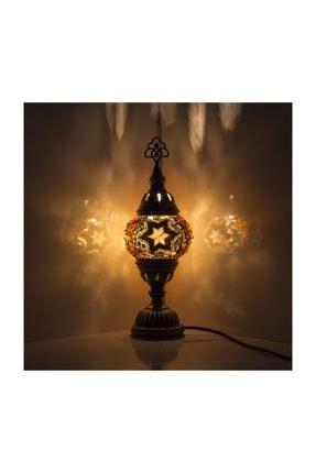 Mozaik Lamba Dekoratif Lamba Osmanlı Masa Lambası KRLP00224
