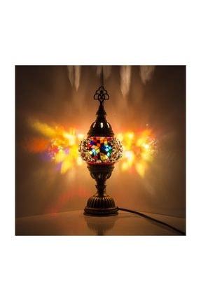 Mozaik Lamba Dekoratif Lamba Osmanlı Masa Lambası KRLP00232
