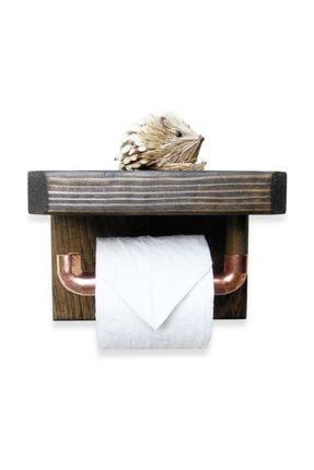 Tuvalet Kağıtlık Masif Ahşap Tuvalet Kağıtlığı WDN022