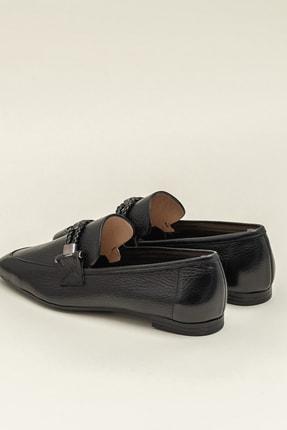 Elle ESTEFANY-1 Deri Siyah Kadın Ayakkabı 2