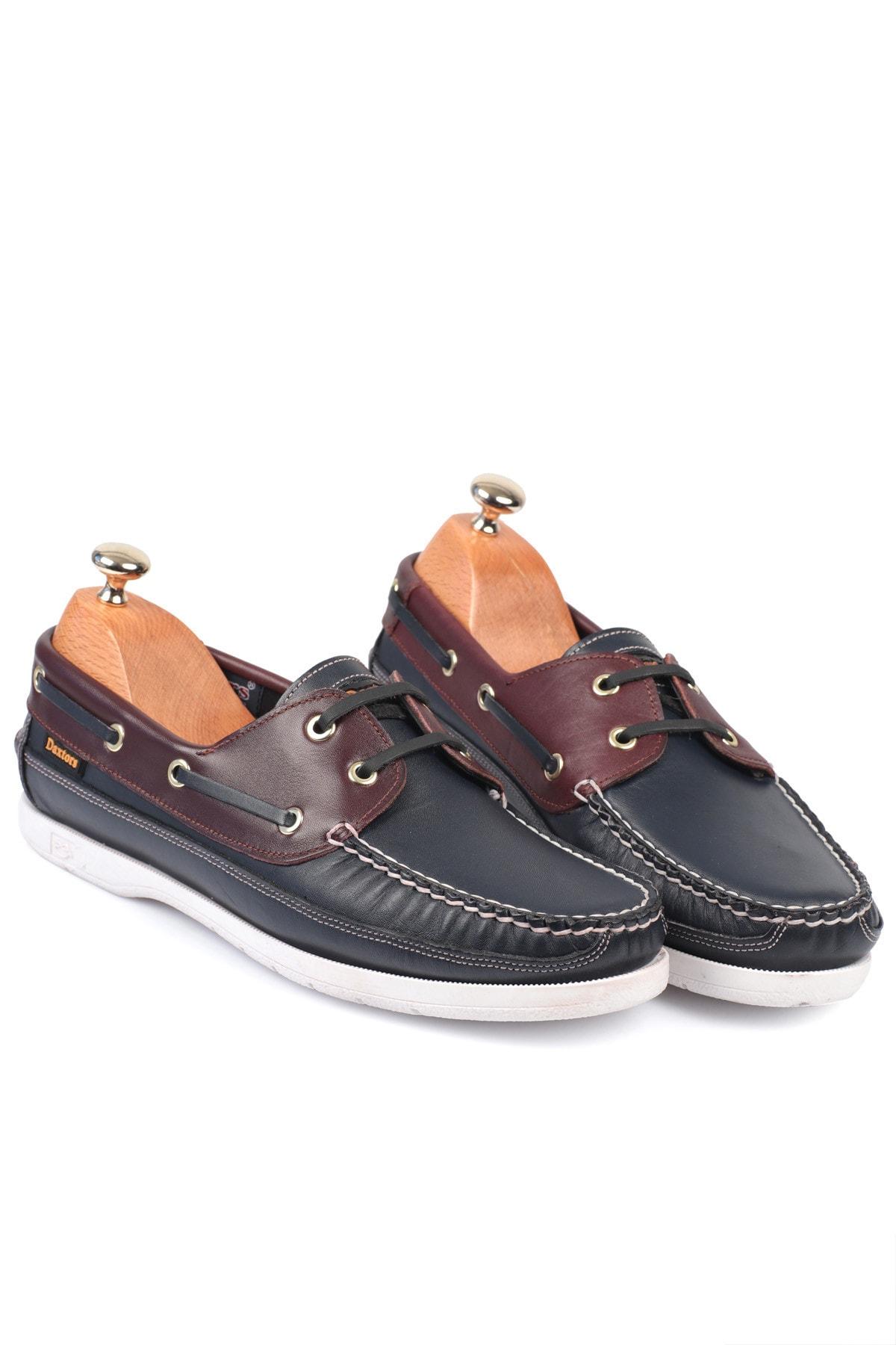 Daxtors D815 Günlük Klasik Hakiki Deri Baba Ayakkabısı 1