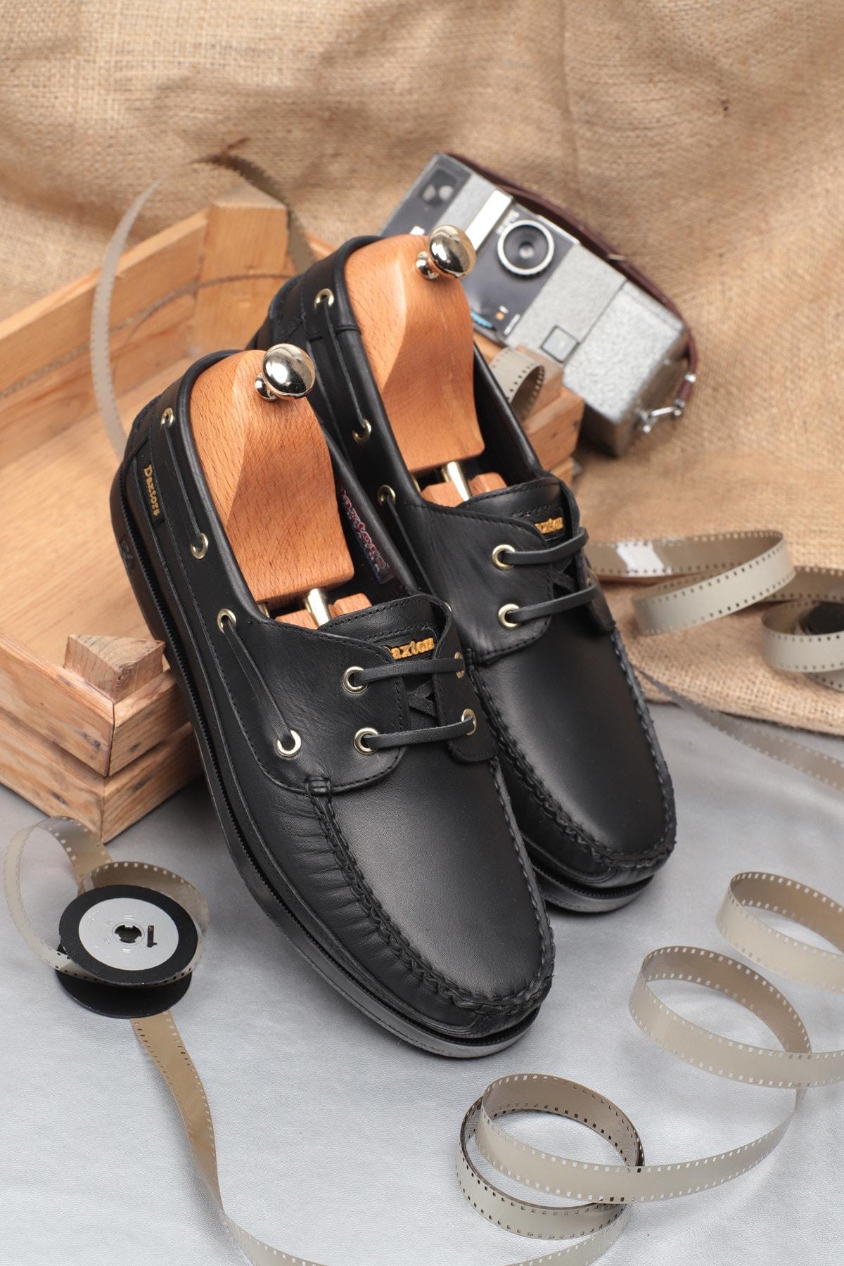 D815 Günlük Klasik Hakiki Deri Ayakkabı