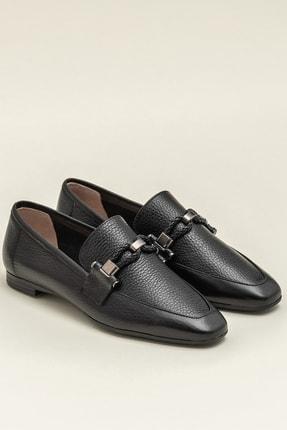 Elle ESTEFANY-1 Deri Siyah Kadın Ayakkabı 1