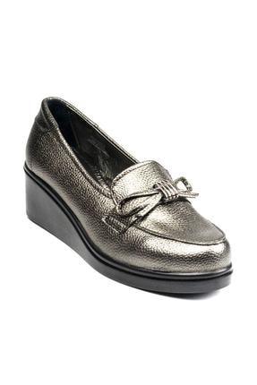 Polaris 92.151039.Z Gümüş Kadın Dolgu Topuklu Ayakkabı 100428480 0