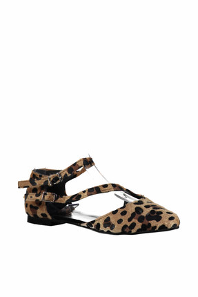Fox Shoes Leopar Kadın Ayakkabı D726016902 3