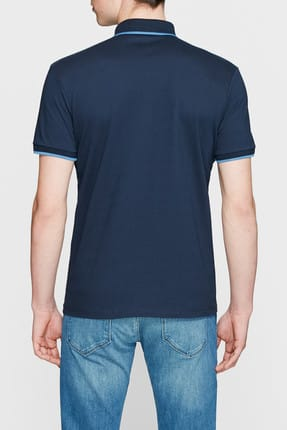 Mavi Lacivert Polo Tişört 3