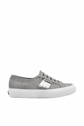 Gri Kadın Ayakkabı - 2750 - Pusnakew - S00CL10-004