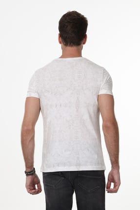 Ramsey Baskılı Örme T-Shirt - RP10106641 3