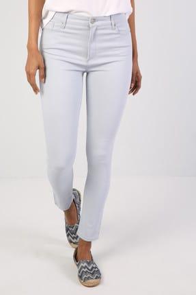Colin's Super Slim Fit Kadın Açık Mavi Pantolon 0