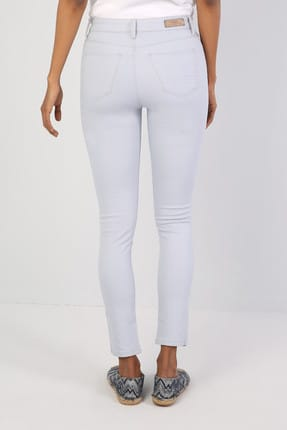 Colin's Super Slim Fit Kadın Açık Mavi Pantolon 1