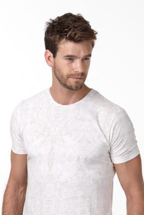 Ramsey Baskılı Örme T-Shirt - RP10106641 2