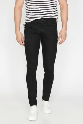 Koton Erkek Siyah Pantolon BSC 2