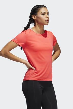 adidas RUN IT Kırmızı Kadın Kısa Kol Tişört 100575778 3