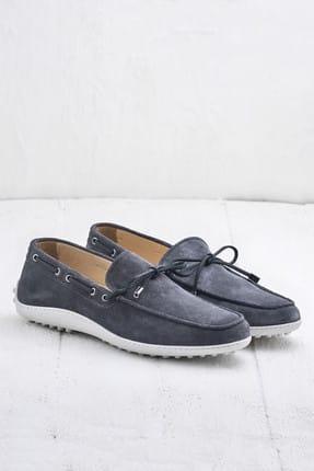 Elle TEON Hakiki Deri Gri Erkek Ayakkabı 1