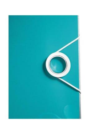 Leitz 1106 Klasör 180° PP Active WOW  Geniş Metalik - Buz Mavisi 2