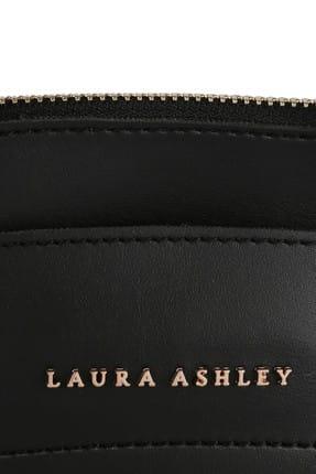 Laura Ashley Kadın Püskül Detaylı Omuz Çantası Siyah 4