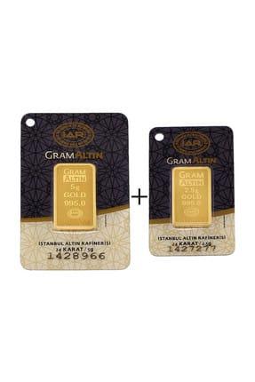 Tuğrul Kuyumculuk 7,5 Gram (5+2,5) Külçe Gram Altın IAR 24 Ayar K00075 0