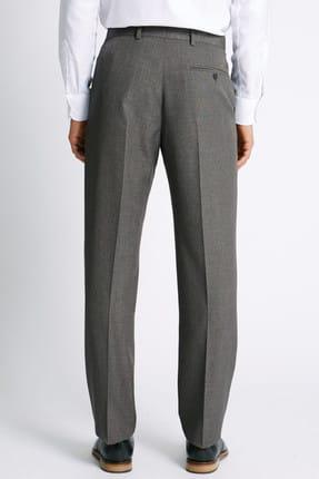 Marks & Spencer Erkek Gri Regular Fit Pantolon T17003214M 1