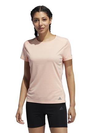 adidas RUN TEE W Pembe Kadın T-Shirt 100584541 0