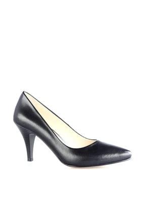 Dgn Siyah Kadın Klasik Topuklu Ayakkabı 304-127 1