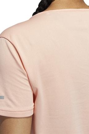 adidas RUN TEE W Pembe Kadın T-Shirt 100584541 2