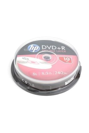 HP dvd+r double layer branded 8x 8.5gb 240min video 0