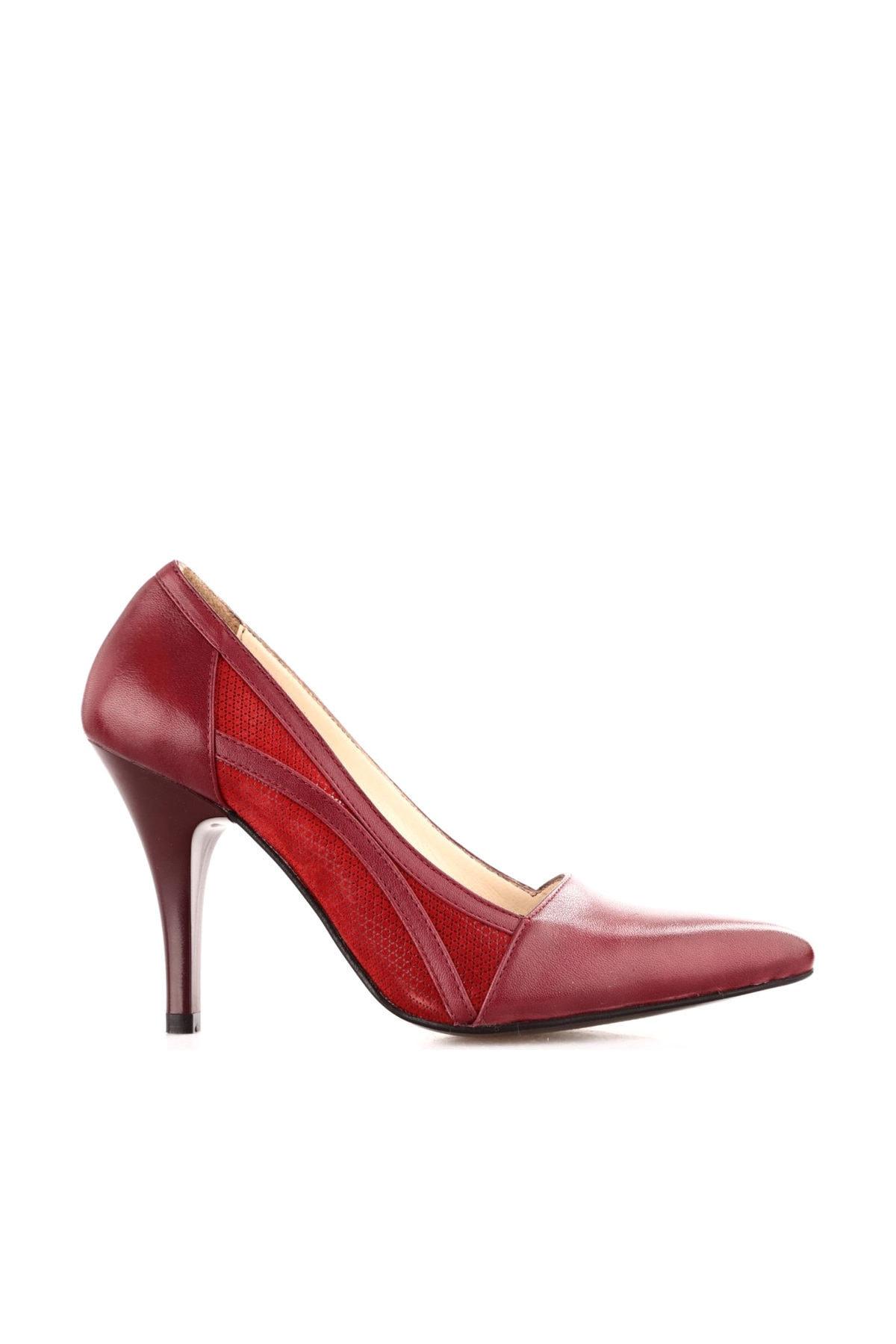 Dgn Lacivert Kadın Klasik Topuklu Ayakkabı 166-127