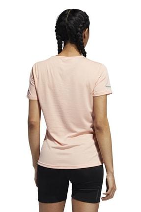 adidas RUN TEE W Pembe Kadın T-Shirt 100584541 1