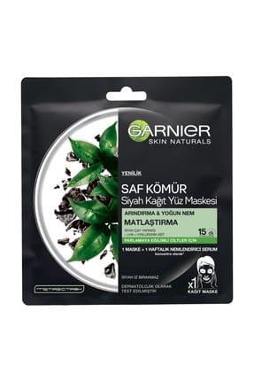 Garnier Saf Kömür Matlaştırıcı Kağıt Maske 0
