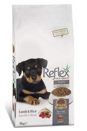 Reflex Kuzu Etli Pirinçli Yavru Köpek Maması 15 Kg 0
