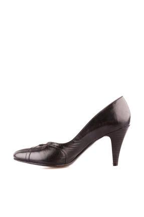 Dgn Siyah Kadın Klasik Topuklu Ayakkabı 653-127 3