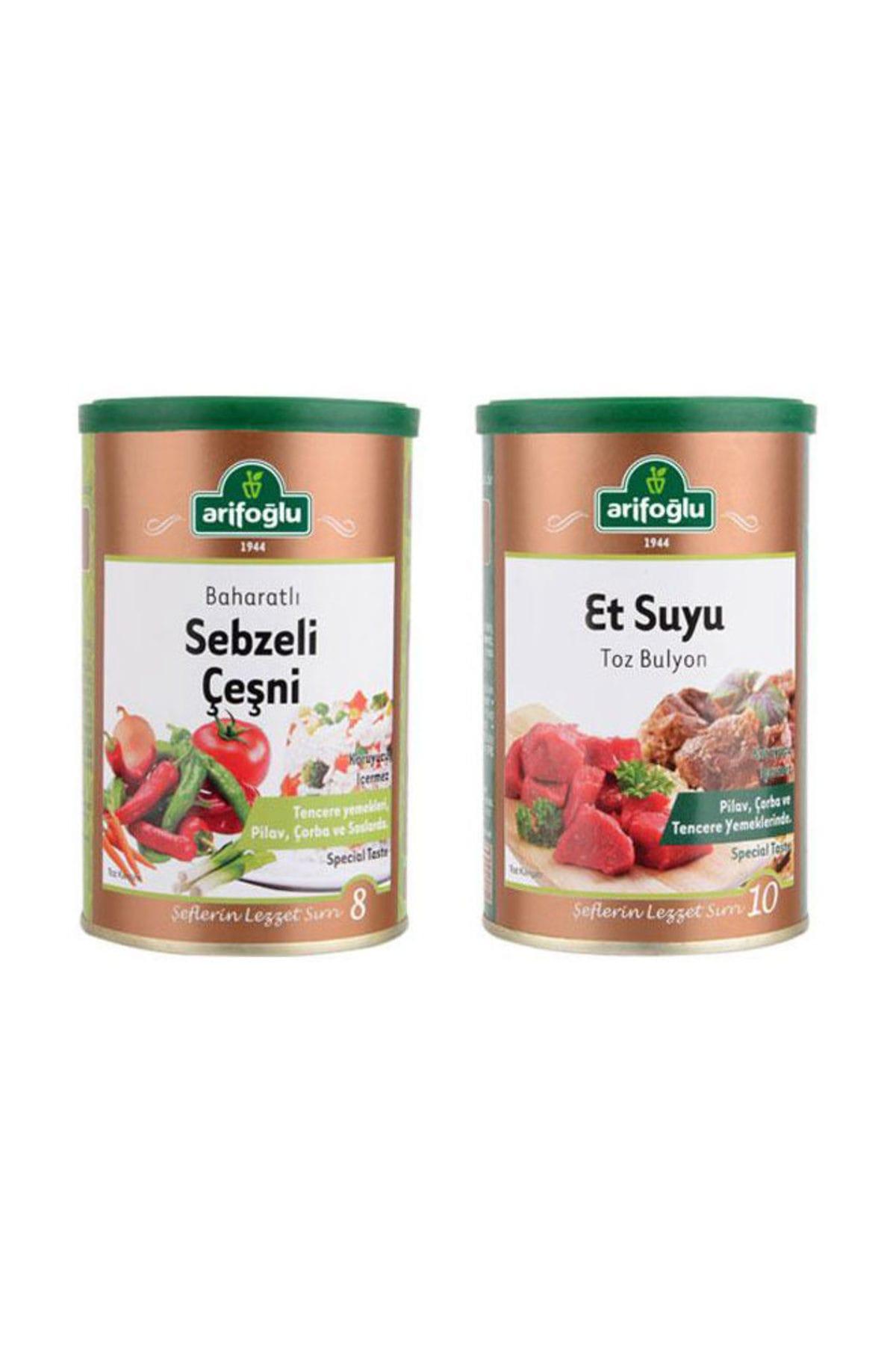 Sebzeli Çeşni 220 gr (Tnk) + Et Suyu Toz Bulyon 250gr (Tnk)