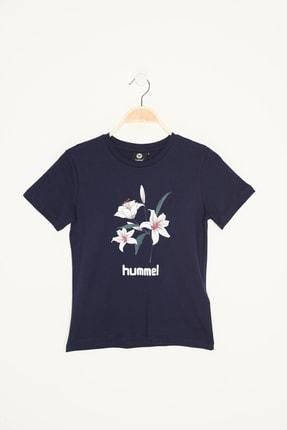 HUMMEL HMLNEVES  T-SHIRT S/S TEE Gri Kız Çocuk T-Shirt 100579847 0