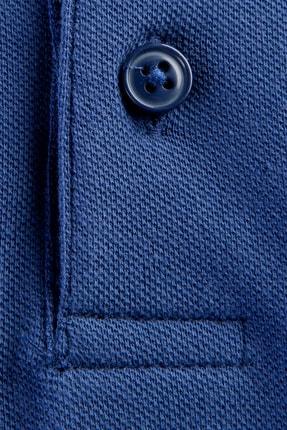 Kiğılı Polo Yaka Regular Fit Tişört 3