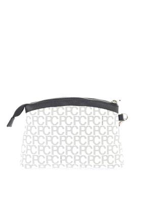 Pierre Cardin Beyaz Alfabe Portföy & Clutch Çanta 05PO16K1343 2
