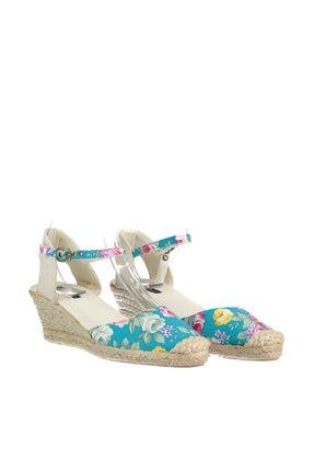 İnci Mavi Kadın Sandalet 120116014809 3