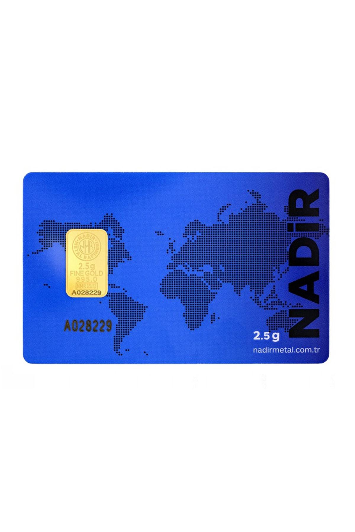 Tuğrul Kuyumculuk 2,5 Gram Külçe Gram Altın IAR 24 Ayar K000001
